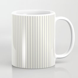 Bespoke Farmhouse Gray Ticking Stripe Coffee Mug