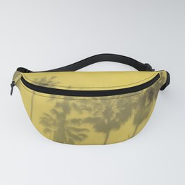 Yellow Palms Fanny Pack