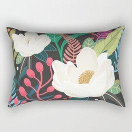 The Garden of Alice, flower, floral, blossom art print Rectangular Pillow