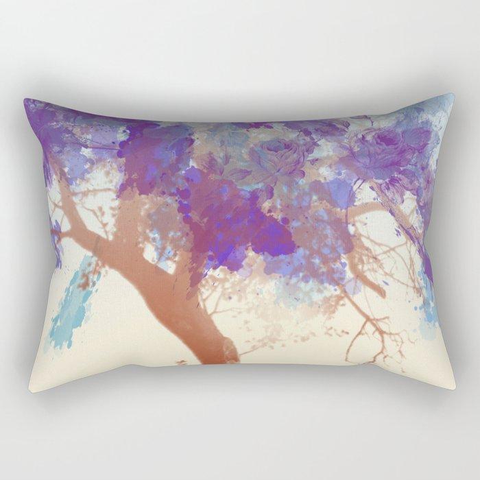 Water Your Tree of Life. Rectangular Pillow