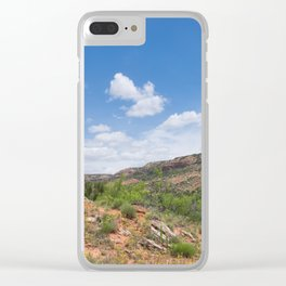 Texas Canyon 2 Clear iPhone Case