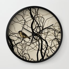 Lonely Bird... Wall Clock