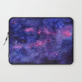 Galaxy Pattern Watercolor Nebula Texture Laptop Sleeve
