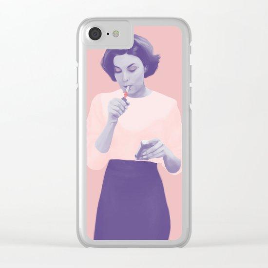 Twin Peaks Clear iPhone Case