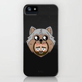 wolf kills jay iPhone Case