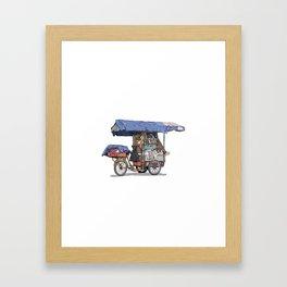Carrito Framed Art Print