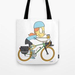 Coffeeneuring Girl Tote Bag