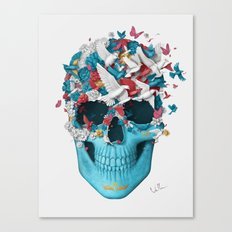 Skull Wings Canvas Print