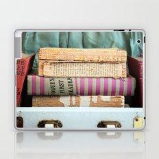 Vogue - in Pink Stripes Laptop & iPad Skin