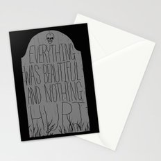 slaughterhouse V - everything was beautiful - vonnegut Stationery Cards