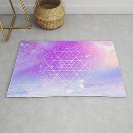 Sacred Geometry (Sri Yantra) Rug