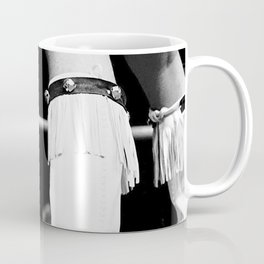 wrestling boots Coffee Mug