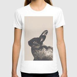 Little Rabbit on Light Beige #1 #decor #art #society6 T-shirt