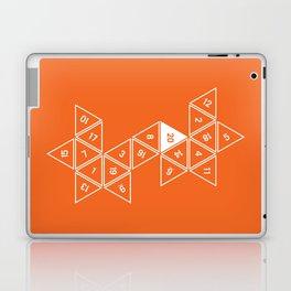 Orange Unrolled D20 Laptop & iPad Skin