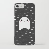 ghost iPhone & iPod Cases featuring Ghost by Elisabeth Fredriksson