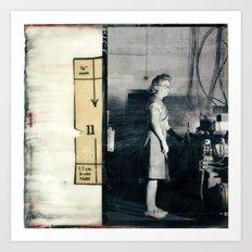Women's Work One Art Print
