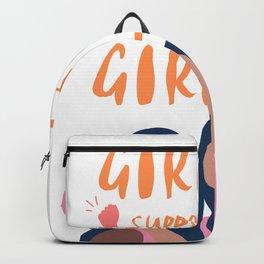 Girls Support Girls | Feminism Backpack