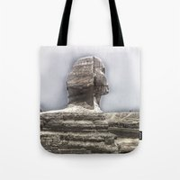 egypt Tote Bags featuring Egypt by Alex Alexandru