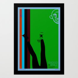 The Chocolate Giant Look Book Poster Series_Leggins Are Not Pants Art Print