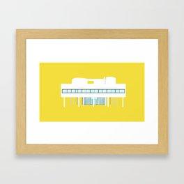Iconic Houses - Villa Savoye Framed Art Print