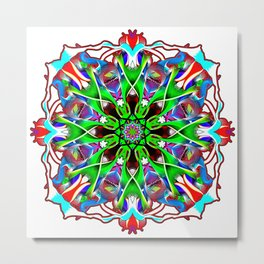 Candy Color Confection Metal Print