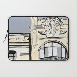 Baroque Architecture Drawing in Madrid Spain Laptop Sleeve