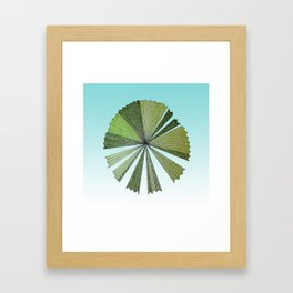 Australica Palm Beach Framed Art Print