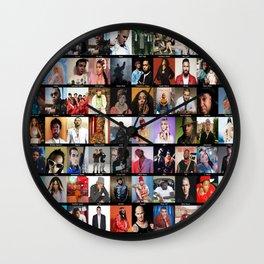 Rap Artists Wall Clock