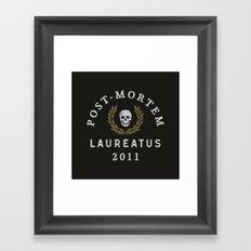 Post-Mortem Laureatus Framed Art Print