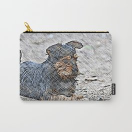 Impressive Animal - sketchy Dog Carry-All Pouch