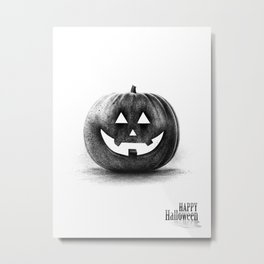 Halloween graffiti Metal Print