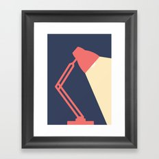 #14 Lamp Framed Art Print