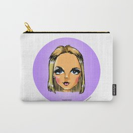 Britney Cartoon: Trouble Bitch Carry-All Pouch
