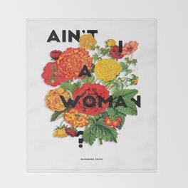 Ain't I A Woman?, 2015 Throw Blanket