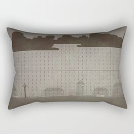 Rainy Scene Rectangular Pillow