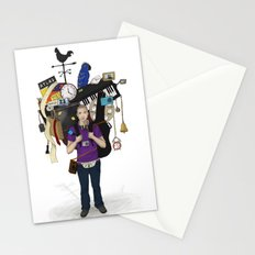 The Weight of Technology #1  Stationery Cards