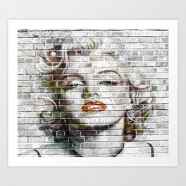 Sex Symbol Wall Hanging | Movie Star Art Tapestry | Wall Art Decor Kunstdrucke