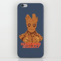 groot iPhone & iPod Skins featuring Groot  by bookotter