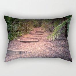 Nature Walk Steps Rectangular Pillow