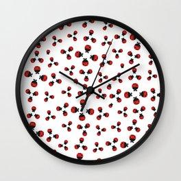 Pattern #4: Ladybug Wall Clock