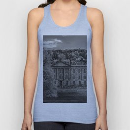 Chatsworth country house Unisex Tank Top