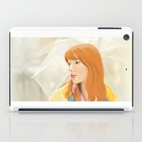 lost in translation iPad Cases featuring Lost In Translation - Charlotte by Tanita