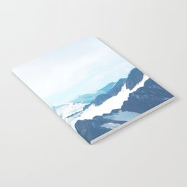 No limits - mountain print Notebook