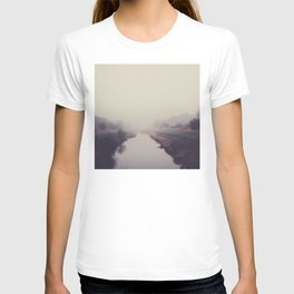 true beauty is a foggy landscape in the English Fens. T-shirt