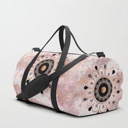 Copper Mandala Duffle Bag
