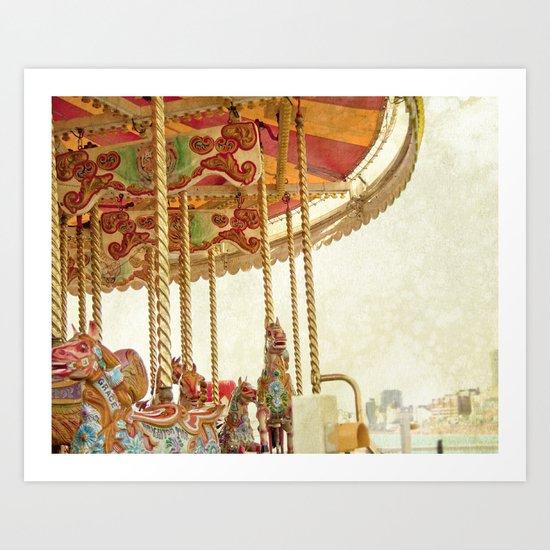 joy ride Art Print