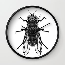 A housefly Wall Clock