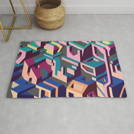 Psychedelic Dissection Rug