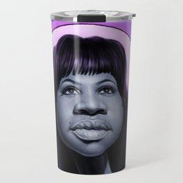 Aretha Franklin Travel Mug