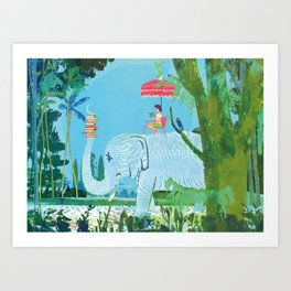 Summer Reading Art Print